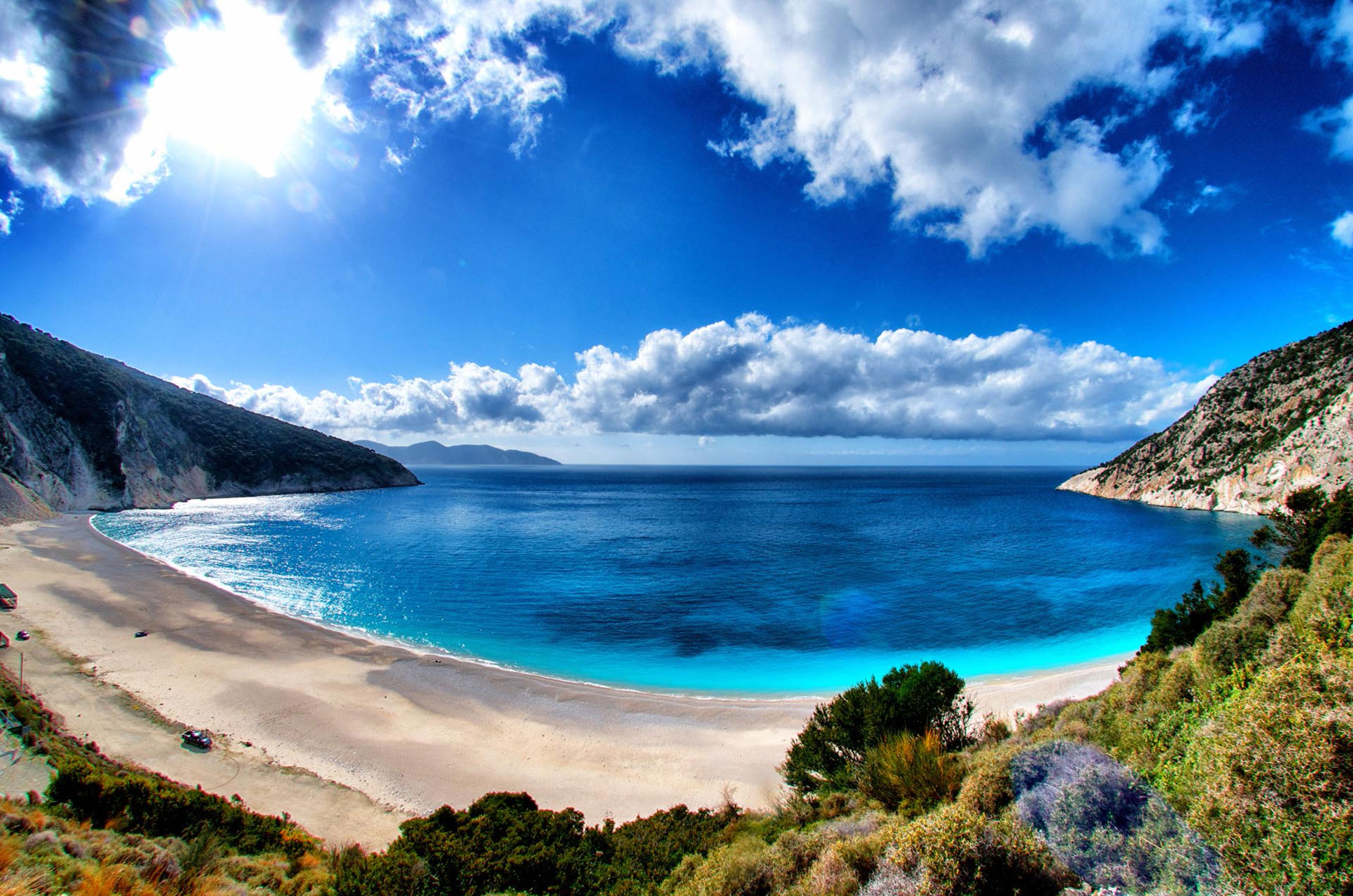 The most beautiful beach in Kefalonia